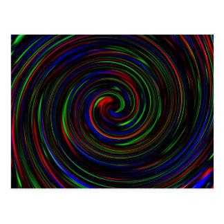 Swirl Customizable Post Cards