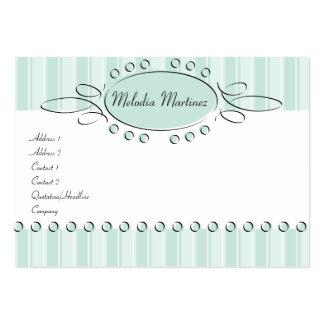 Swirl Decor Large Business Card