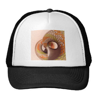 Swirl dotty colourful  yellow Orange design Trucker Hat