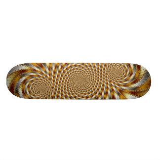 Swirl Fractal 1 - Fractal Skateboard