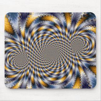 Swirl Fractal 2 - Fractal Mousepad