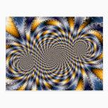 Swirl Fractal 2 - Fractal Postcard