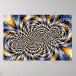 Swirl Fractal 2 - Fractal Poster