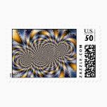 Swirl Fractal 2 - Fractal Stamp