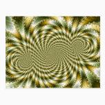 Swirl Fractal 3 - Fractal Postcard