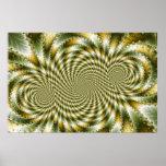 Swirl Fractal 3 - Fractal Poster