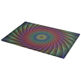 Swirl fractal cutting board