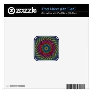 Swirl fractal skins for iPod nano