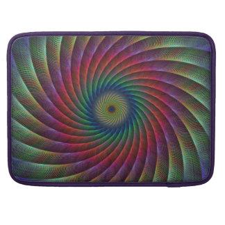 Swirl fractal sleeves for MacBooks
