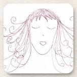 Swirl Girl Drink Coasters