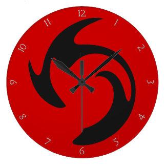 Swirl Graffiti Clock
