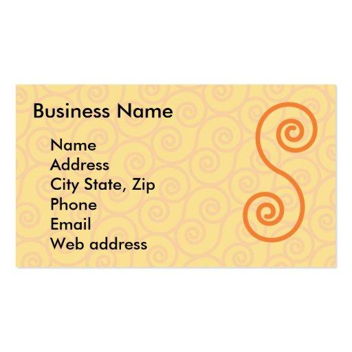 Swirl henna business card zazzle for Henna business cards