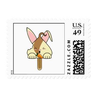 Swirl Hopdrop Bitten Pop Postage Stamp