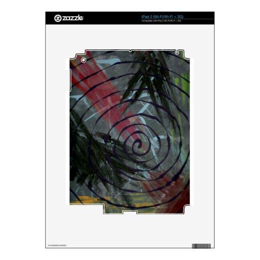 swirl.jpg calcomanías para iPad 2