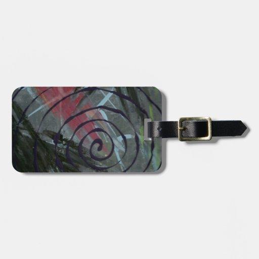 swirl.jpg etiqueta de maleta
