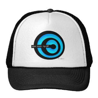 Swirl Light Blue Trucker Hat