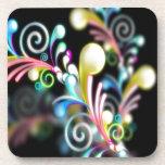 Swirl mania coasters