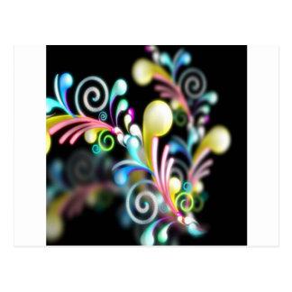 Swirl mania postcard
