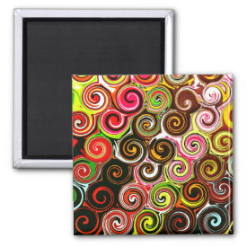 Colorful Swirls Pattern Pink And Brown Pretty Pattern Gifts