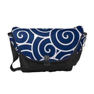 Swirl Messenger Bags