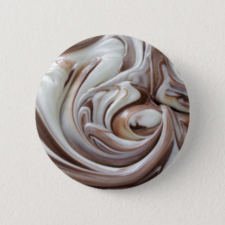 swirl of chocolate button small