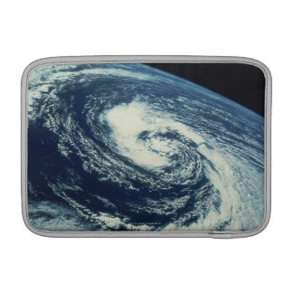 Swirl of Clouds over the Earth Sleeve For MacBook Air
