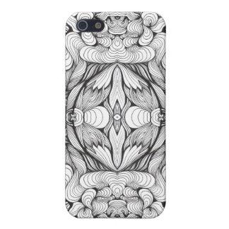 Swirl Ornament Studio Case For iPhone SE/5/5s