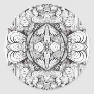 Swirl Ornament Studio Stickers