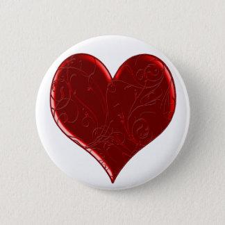 Swirl Overlaid Heart Button