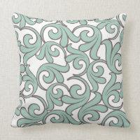 Swirl Pattern Throw Pillow Home Decor