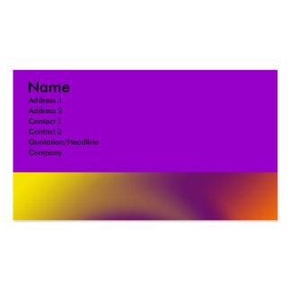swirl purple orange business card templates