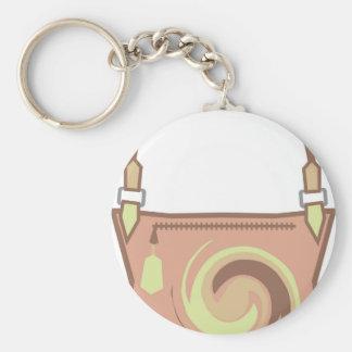 Swirl Purse vector Keychain