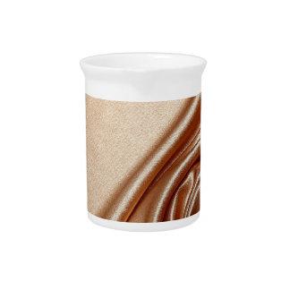 swirl satin bronze elegant chic textile silk silky drink pitchers