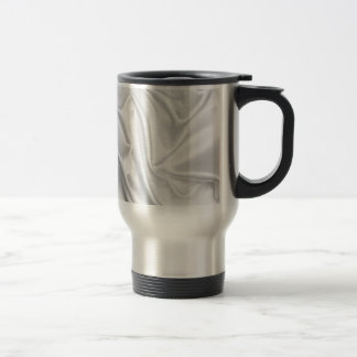 swirl satin white wedding chic textile silk style coffee mug