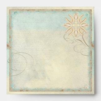 Swirl Shells Sand n Sea Beachy Ocean Coastal Beach Envelope