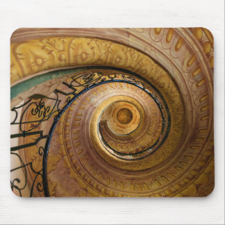Swirl Staircase Pattern Mouse Pad