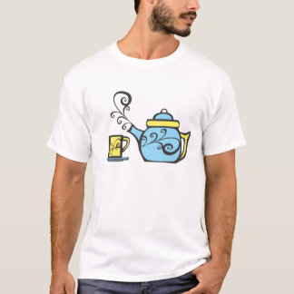 Swirl Teapot and Mug T-Shirt