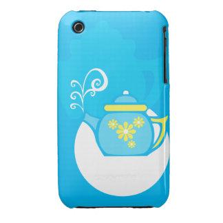 Swirl Teapot iPhone 3 Covers