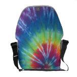 Swirl Tie Dye Messenger Bag