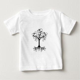 Swirl Tree of Life with Pomegranate Etz Chayim Baby T-Shirt