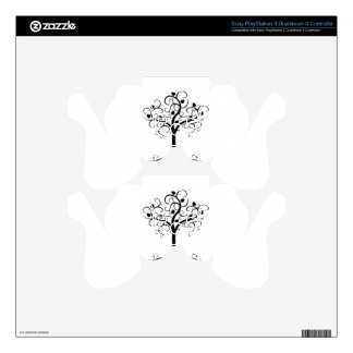 Swirl Tree of Life with Pomegranate Etz Chayim Decal For PS3 Controller