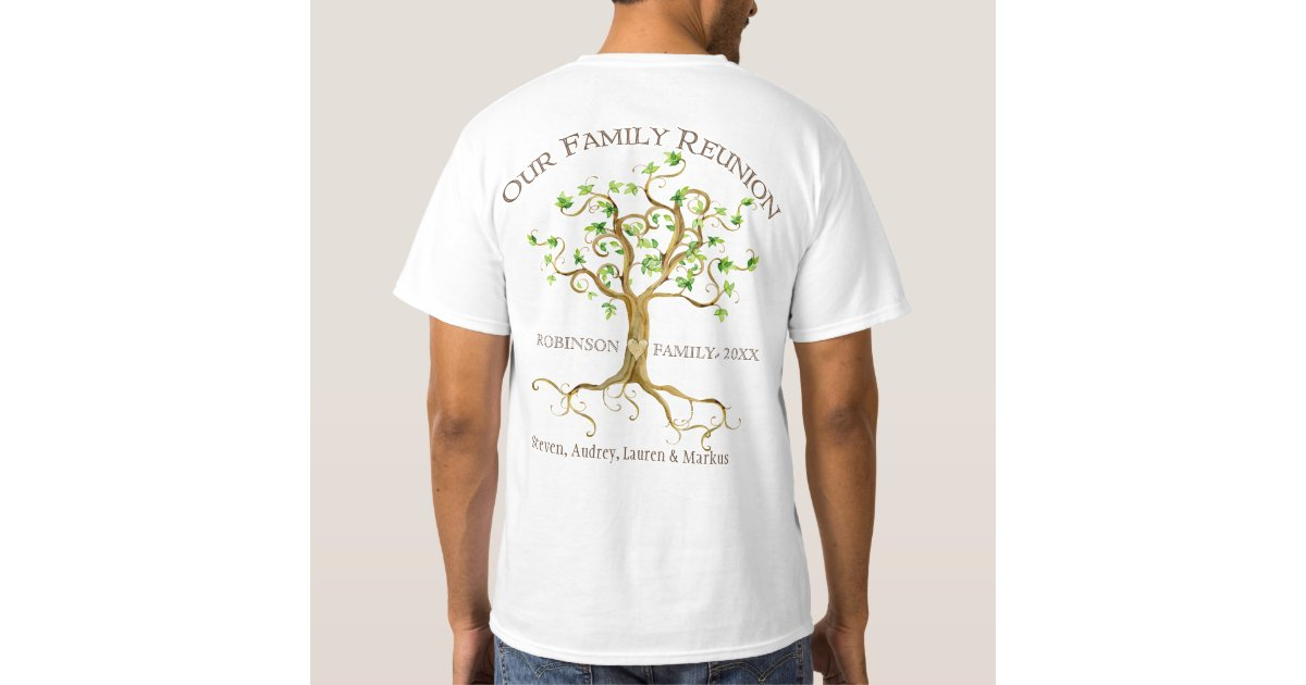 Family Reunion T-Shirts & Shirt Designs   Zazzle