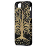 Swirl Tree You Choose Background Color iPhone 5 Cover