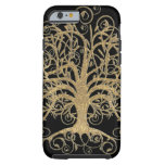 Swirl Tree You Choose Background Color iPhone 6 Case
