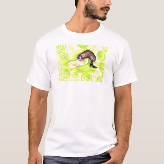 Swirl, Whirl, Twirl (smaller image without text) T-Shirt