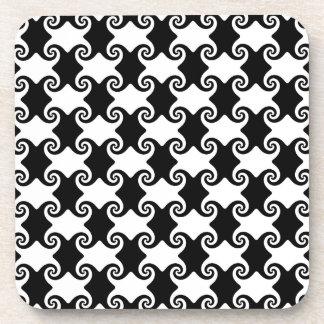 swirled case coaster
