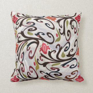 "Swirled Co-Ordinate 2"" By CR Sinclair Throw Pillow"