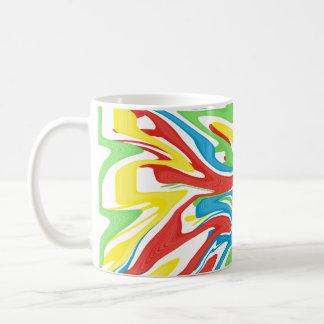 Swirled Rainbow Coffee Mug