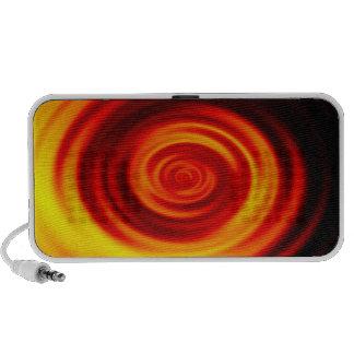 Swirled Sunrise Notebook Speakers