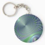 Swirler - Fractal Keychain